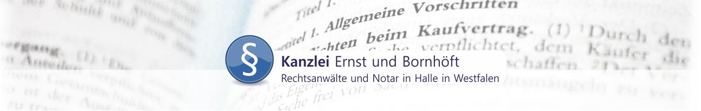 Anwaltssozietät Ernst Bornhöft